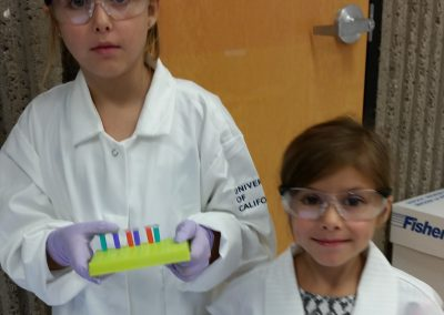 Two of our youngest lab members